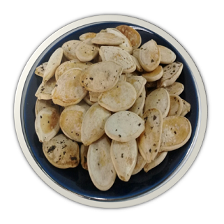 Pumpkin Seed Baked with Tea Leaves